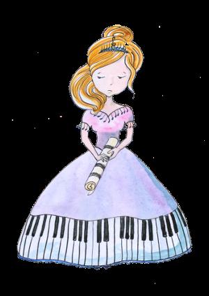 portrét postavičky Princezna Zpěvanka