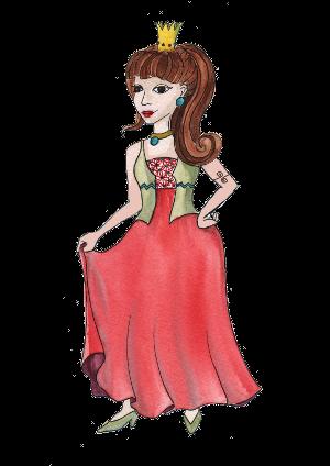 portrét postavičky Princezna Jitřenka