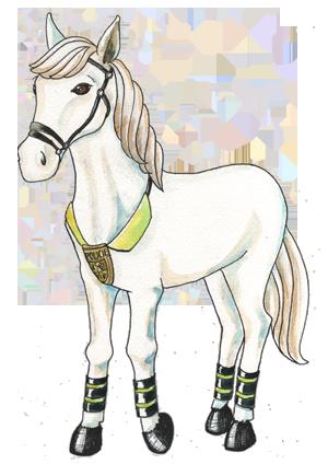 portrét postavičky Policejní kůň Milčák