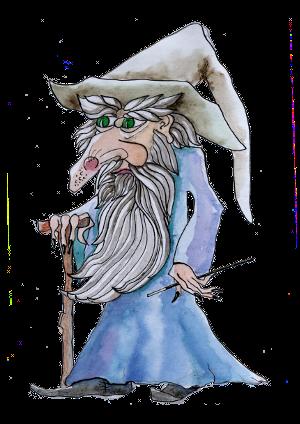 portrét postavičky Čaroděj Zlomor