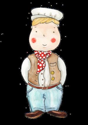 portrét postavičky Cukrovarník Vašek